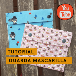 guarda mascarilla tutorial